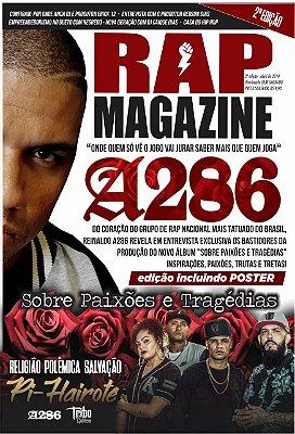 Revista Rap Magazine 2° Edição  Entrevista exclusiva com Reinaldo A286