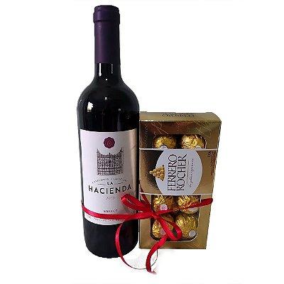 Vinho Uruguaio + Ferrero Rocher