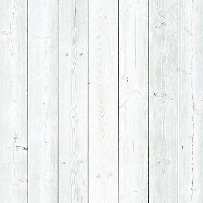 Papel de Parede Madeira Branca