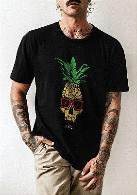 Camiseta Abacaxi Caveira