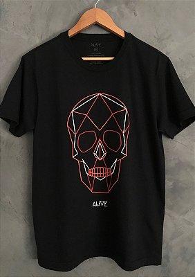 Camiseta Geo Skull