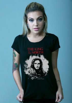 Blusa Game of Thrones - Jon Snow