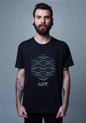 Camiseta Wave Lines