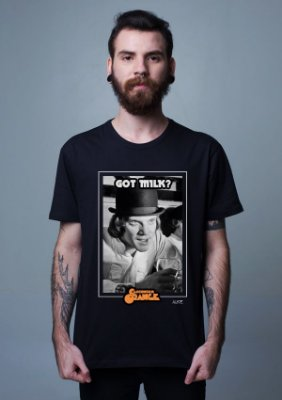 Camiseta Laranja Mecânica