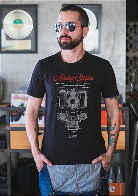 Camiseta Vintage Camera
