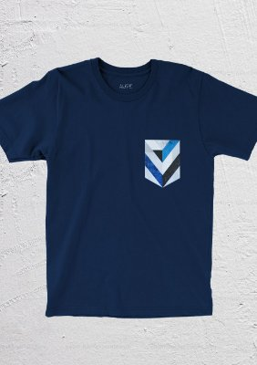 Camiseta Geo Pocket