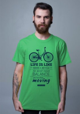 Camiseta Bike Einstein