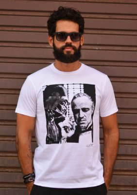 Camiseta Darth Vader x Don Corleone