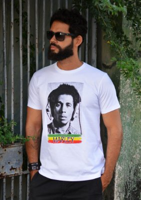 Camiseta King Marley