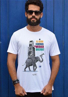 Camiseta Música Selvagem