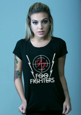 Blusa Foo Fighters