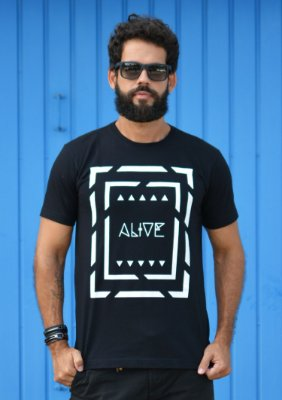Camiseta Tribal Lines