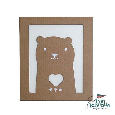 Vini. o Urso - Quadro Decorativo