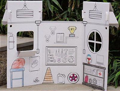 Oficina Mecânica - linha Mini Espaços para Brincar
