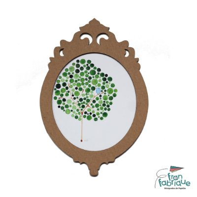 Moldura de Papelão - Árvore (Tam. P)