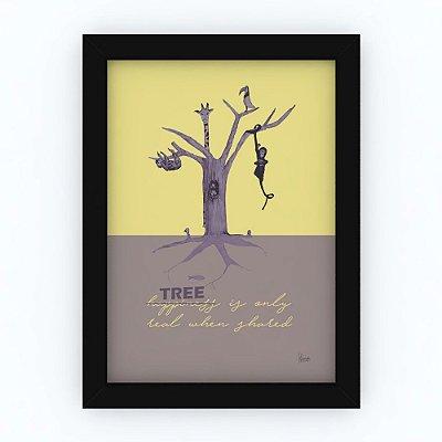 Quadro TREE - by Eduarda Werner