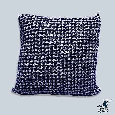 Almofada em tricô BARCELONA