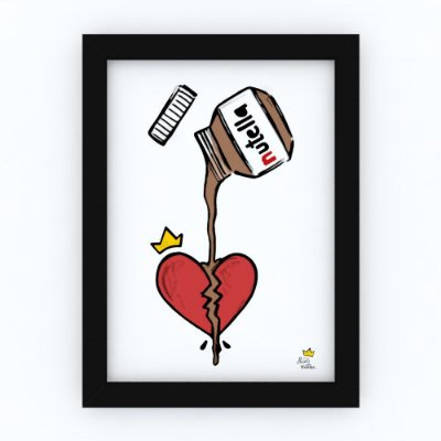 Quadro NUTELLA - by Life on a Draw