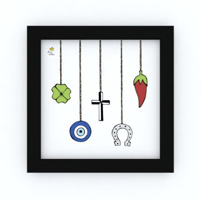 Quadro AMULETOS - by Life on a Draw