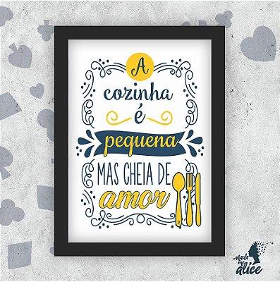 Quadro COZINHA - by Sabrina Matias
