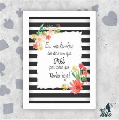 Quadro OREI - by Sabrina Matias