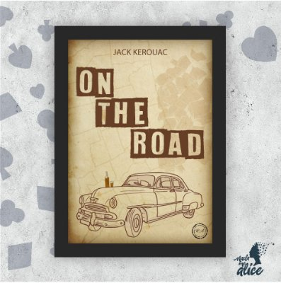 Quadro ON THE ROAD - by Rafael Amorim