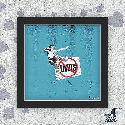 Quadro FCK THE LIMITS - by Anderson Méts
