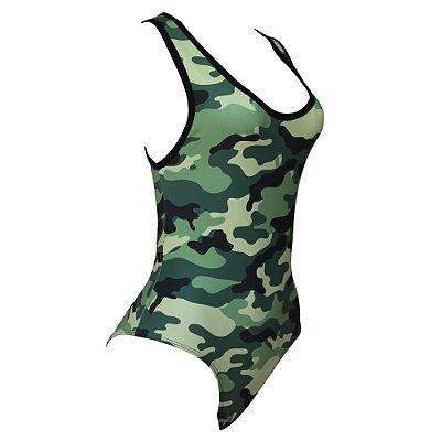 Body Camuflado Militar