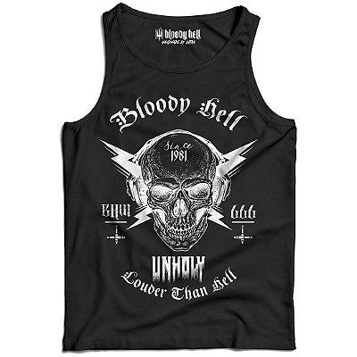 Camiseta Regata Louder than Hell