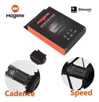 Sensor Ant+ Magene S3+ Cadência/ Velocidade