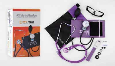 Kit Acadêmico Lilás PA Med