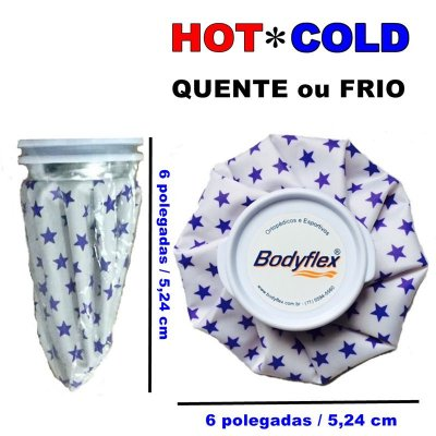Bolsa de Gelo Cold/Hot Therapy Bodyflex Pequena