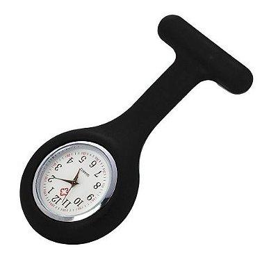 Relógio Lapela de Bolso para Enfermagem Colorido Supermedy Quartz