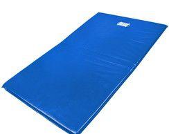 Colchonete Azul Academia, Ginástica, Exercícios Abdominais e Yoga 120x60x4 cm