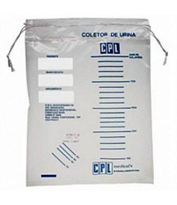 Coletor de Urina Com Barbante Pct c/ 100 uni