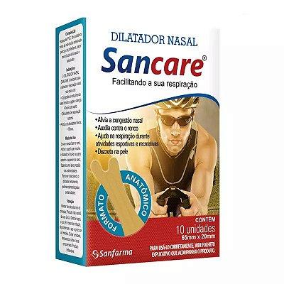 Dilatador Nasal Masculino c/ 10 unidades - SANCARE