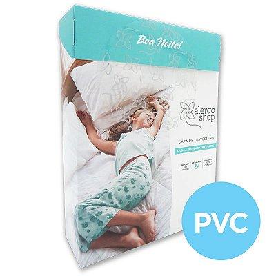 Capa de travesseiro PVC - Alergoshop