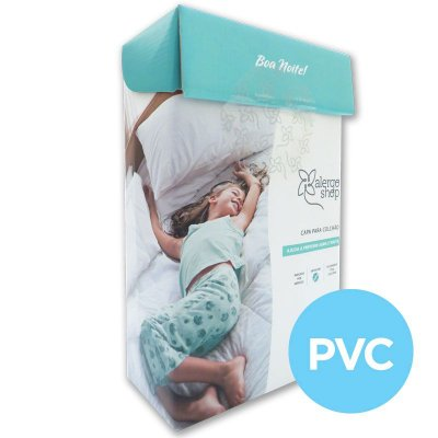Capa de colchão solteiro PVC - Alergoshop