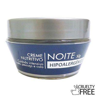 Creme Nutritivo Noite Hipoalergênico Eternity - Alergoshop