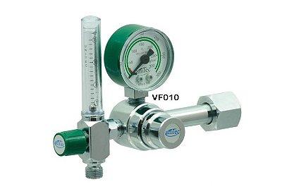 Manômetro c/ Fluxômetro de Oxigênio
