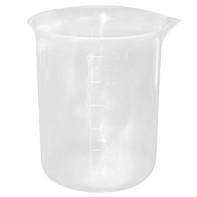 Pote plástico graduado de 300 ml