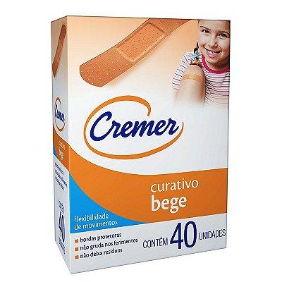 Curativo Cremer Care Bege C/ 40 unidades - CREMER