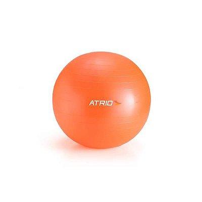 Bola de Ginástica  Material PVC Laranja 65CM Diâmetro  ATRIO - MULTILASER