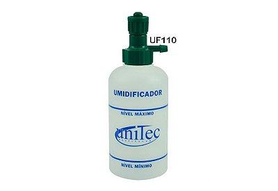 Umidificador De Oxigênio com Frasco de PVC 250 ml - UNITEC