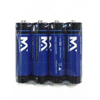 Kit Pilha AAA Palito 4 unidades - MAXMIDIR