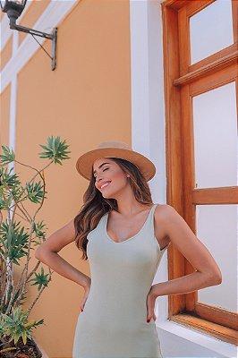 Vestido Mayla Verde Oliva