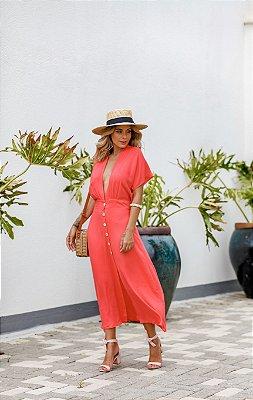 Vestido Monique Coral