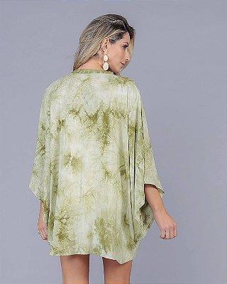 Kimono TieDye Verde