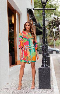 Vestido Chiara Manga Bufante