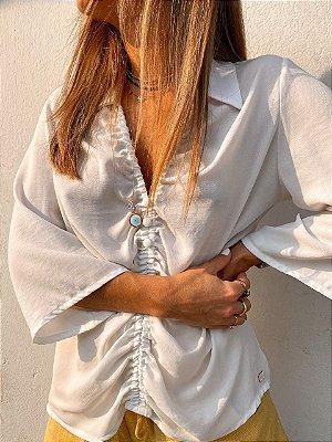 Camisa Domênica Branca